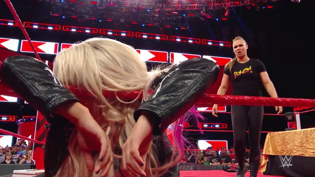 Ronda Rousey'den Büyük Şov!