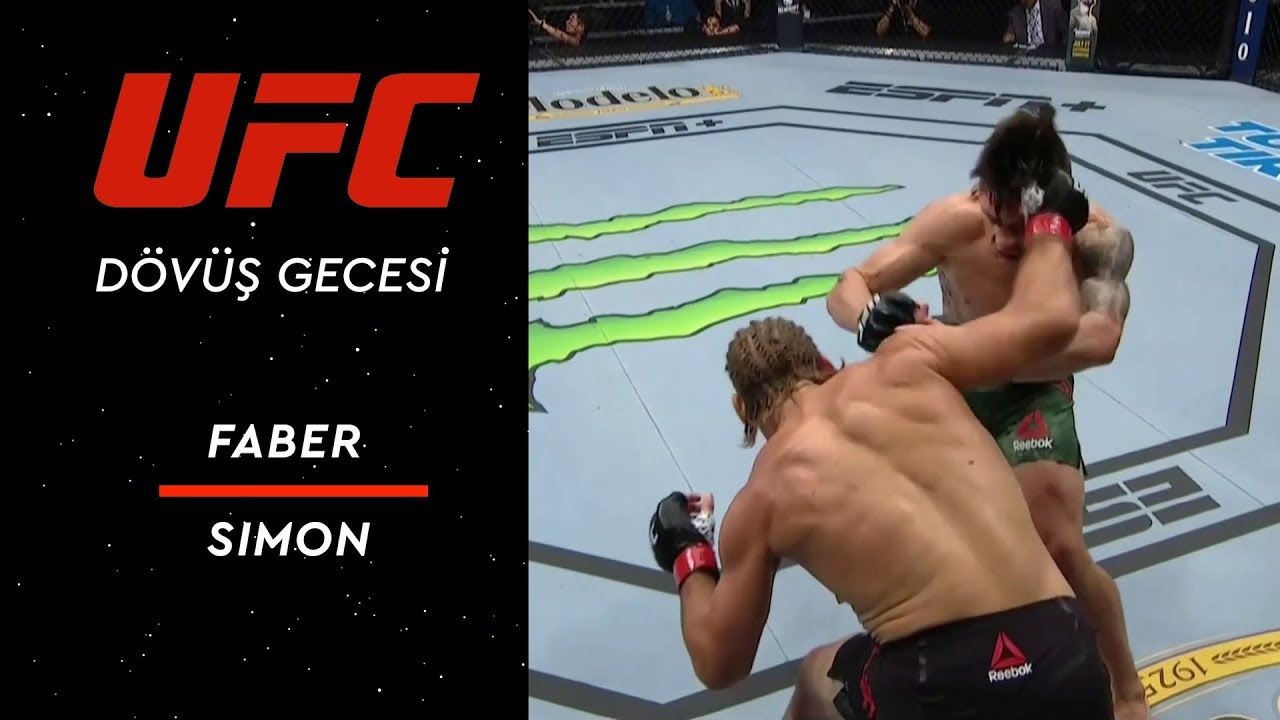 UFC Fight Night 155 | Faber vs Simon