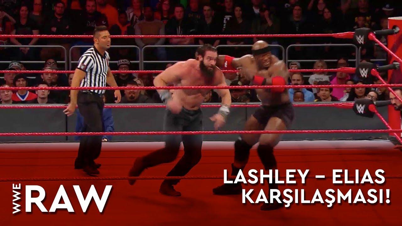 WWE Raw | Lashley – Elias Karşılaşması! (Türkçe Anlatım)