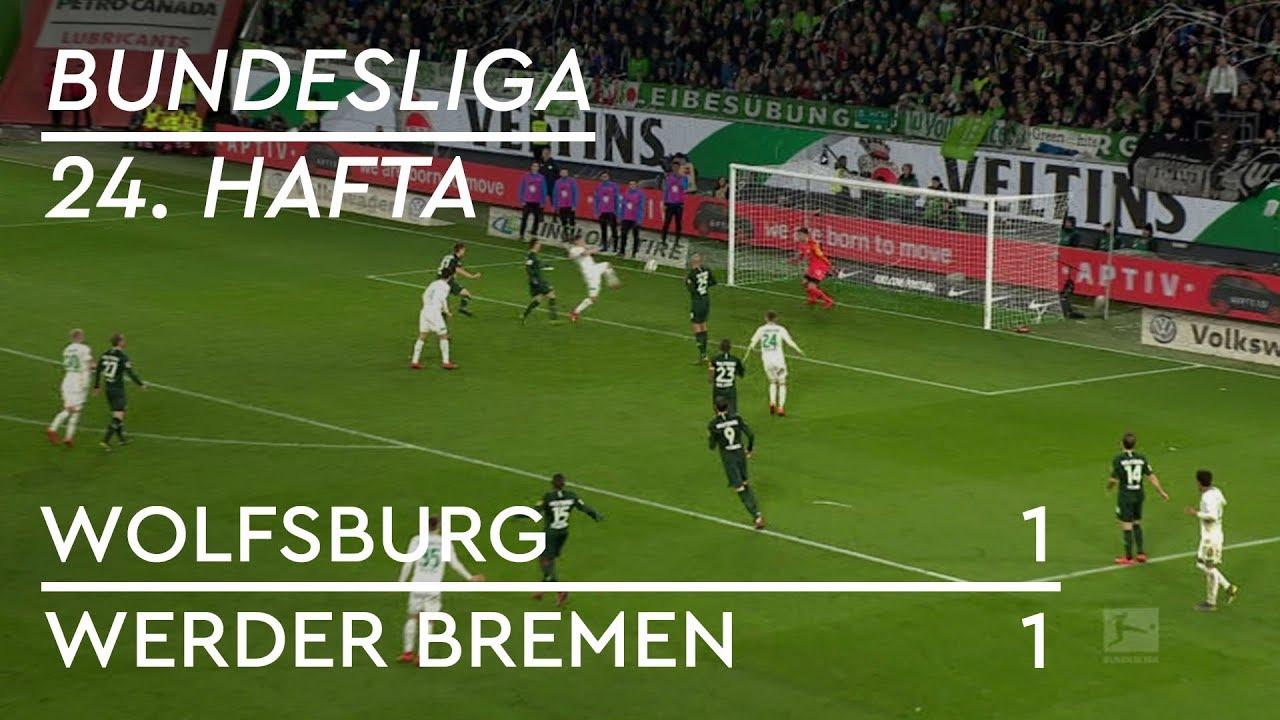 Wolfsburg - Werder Bremen  (1-1) - Maç Özeti - Bundesliga 2018/19