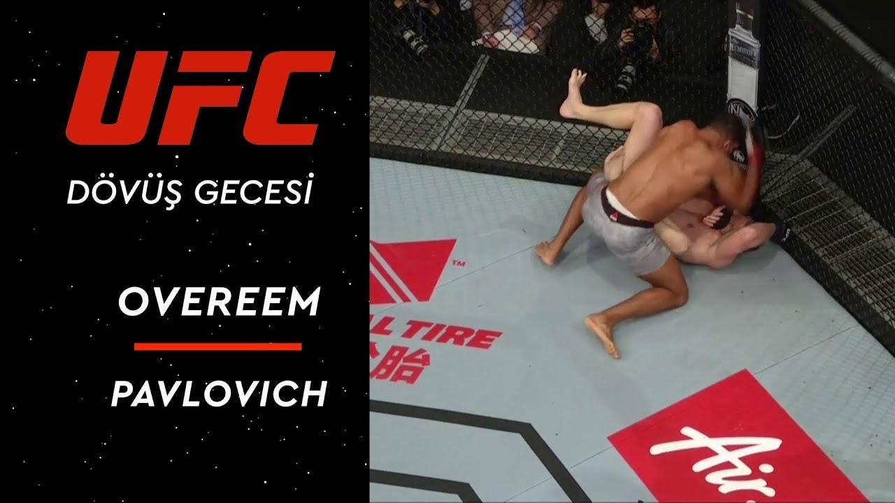 UFC Dövüş Gecesi | Overeem vs Pavlovich