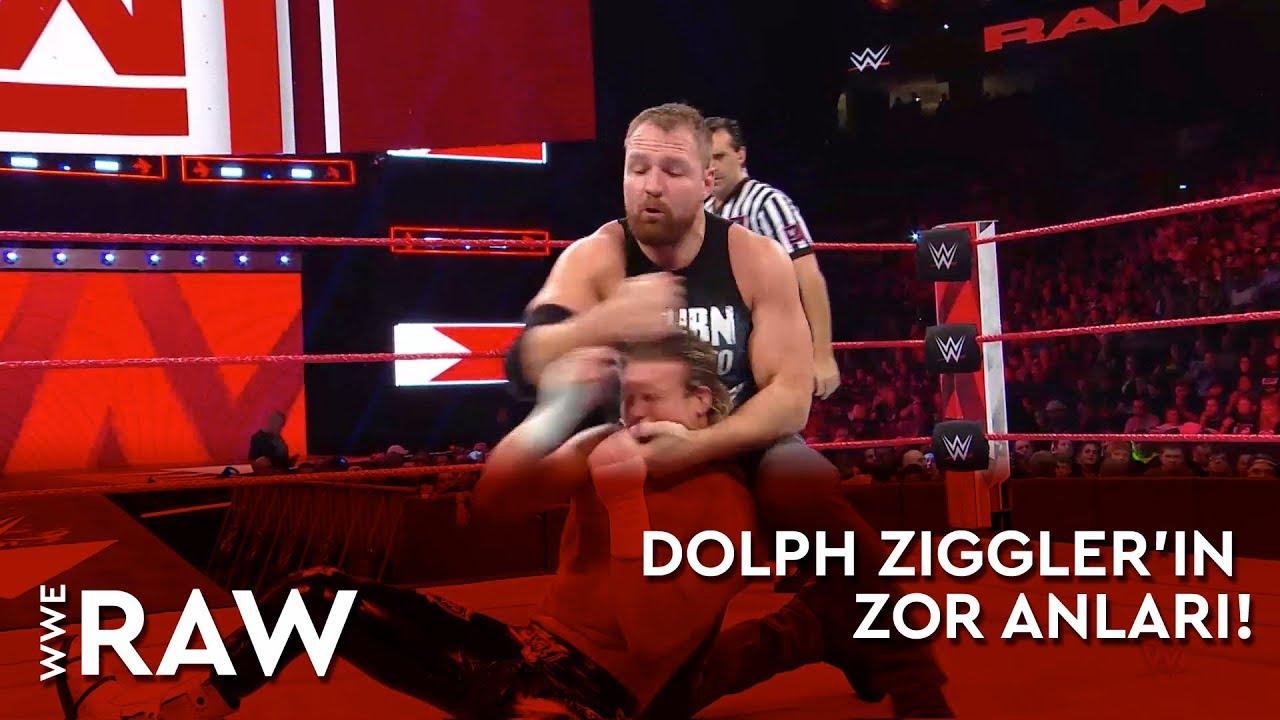 WWE Raw | Dolph Ziggler'in Zor Anları! (Türkçe Anlatım)