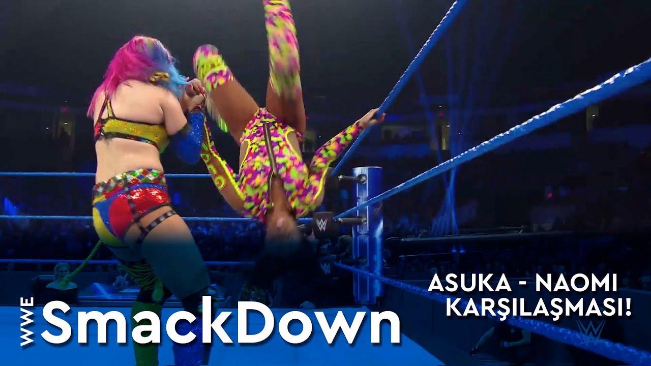 WWE SmackDown | Asuka - Naomi Karşılaşması! (Türkçe Anlatım)