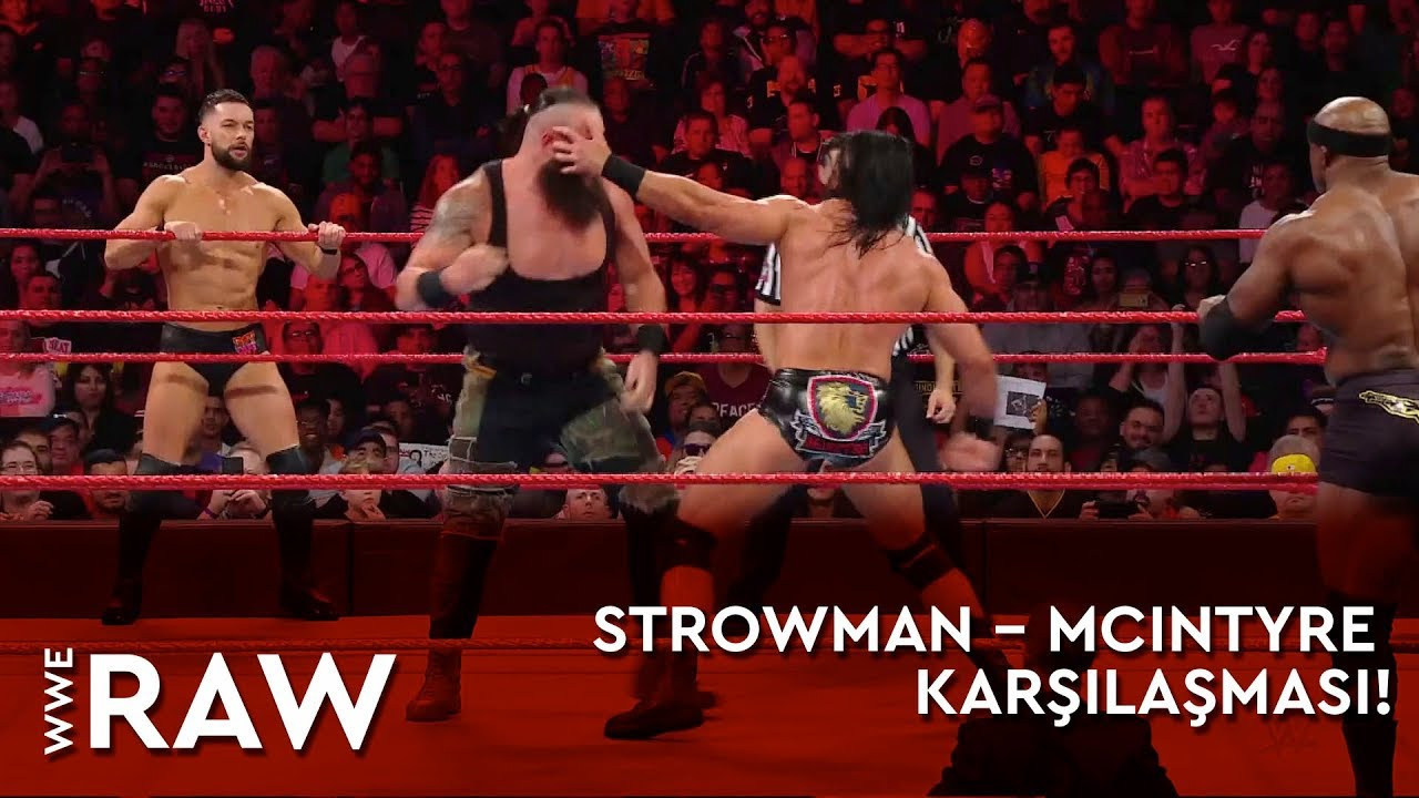 WWE Raw | Strowman – McIntyre Karşılaşması! (Türkçe Anlatım)