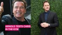 How Chris Pratt got Arnold Schwarzenegger's approval