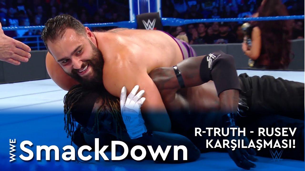 WWE SmackDown | Rusev - R-Truth Karşılaşması! (Türkçe Anlatım)