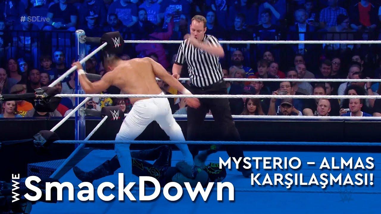 WWE SmackDown | Mysterio – Almas Karşılaşması! (Türkçe Anlatım)