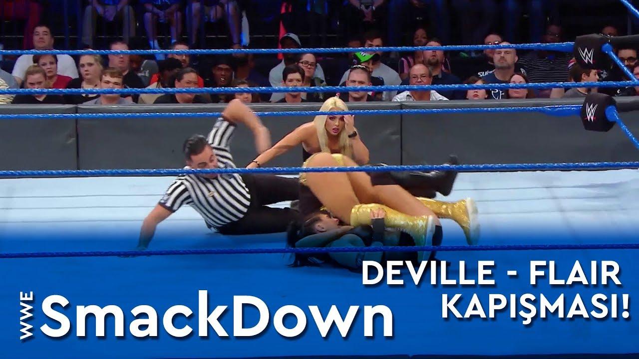 Sonya Deville - Charlotte Flair Kapışması!