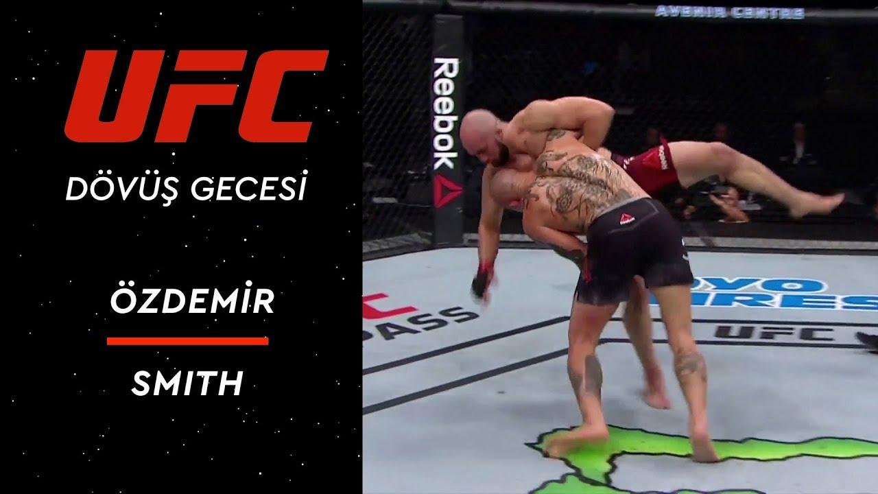 UFC Dövüş Gecesi | Volkan Özdemir - Anthony Smith
