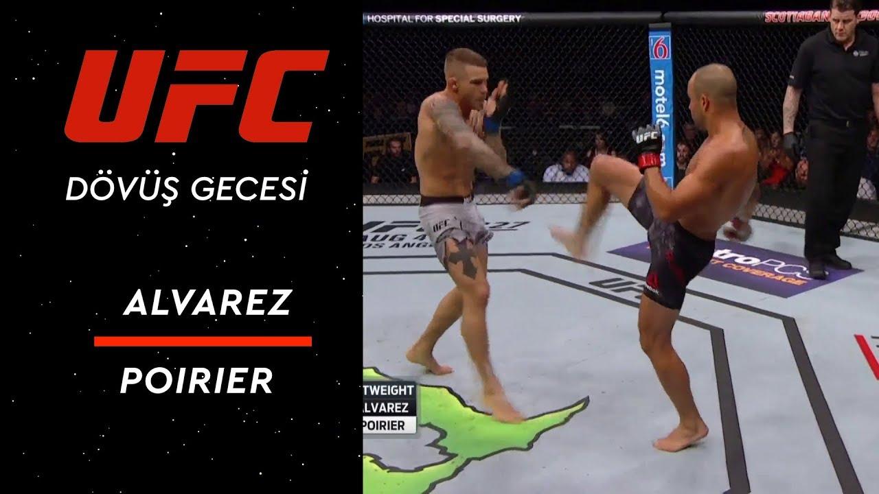 UFC Dövüş Gecesi Kanada - Alvarez vsv Poirier