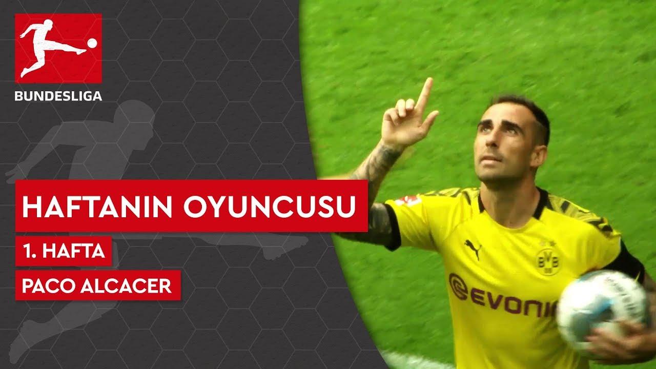 Bundesliga'da 1. Haftanın Oyuncusu | Paco Alcacer (2019/20)