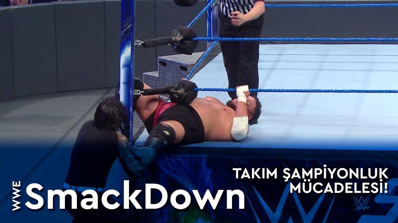WWE SmackDown | Takım Şampiyonluk Mücadelesi! (Türkçe Anlatım)