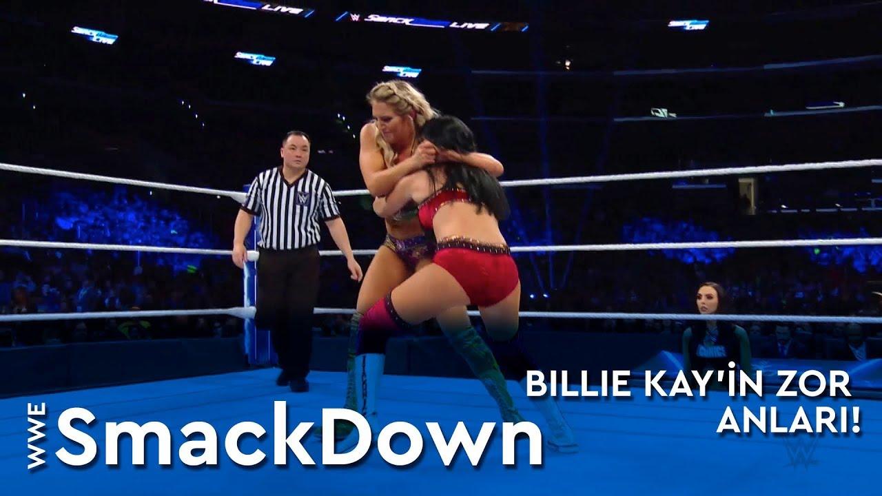 WWE SmackDown | Billie Kay'in Zor Anları! (Türkçe Anlatım)