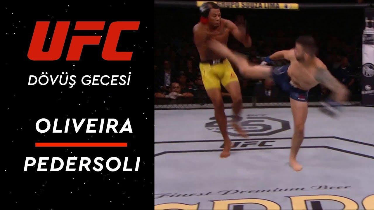UFC Dövüş Gecesi | Oliveira - Pedersoli