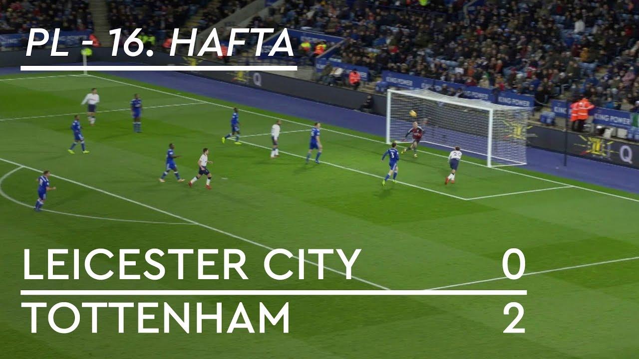 Leicester City - Tottenham (0-2) - Maç Özeti - Premier League 2018/19
