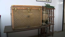 Corn-fused? €10,000 vintage Vuitton trunk used to store maize for decades