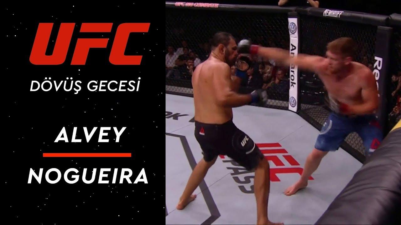 UFC Dövüş Gecesi | Alvey - Nogueira
