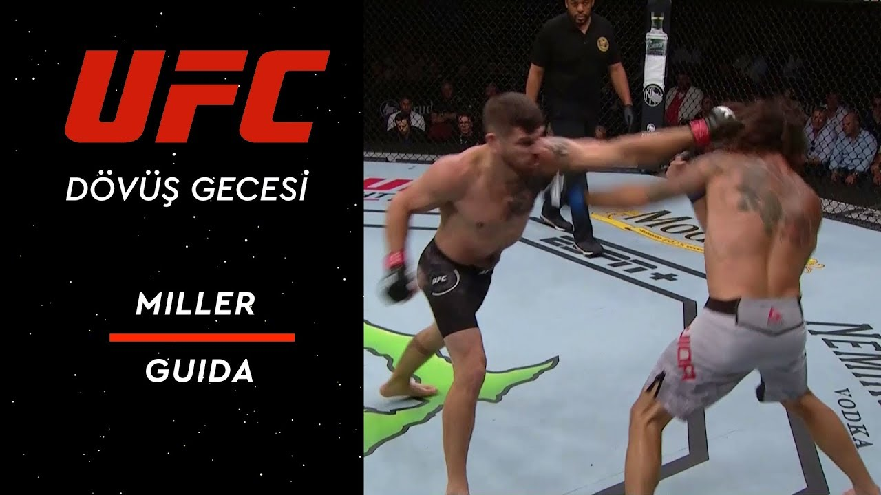UFC on ESPN 5 | Miller vs Guida