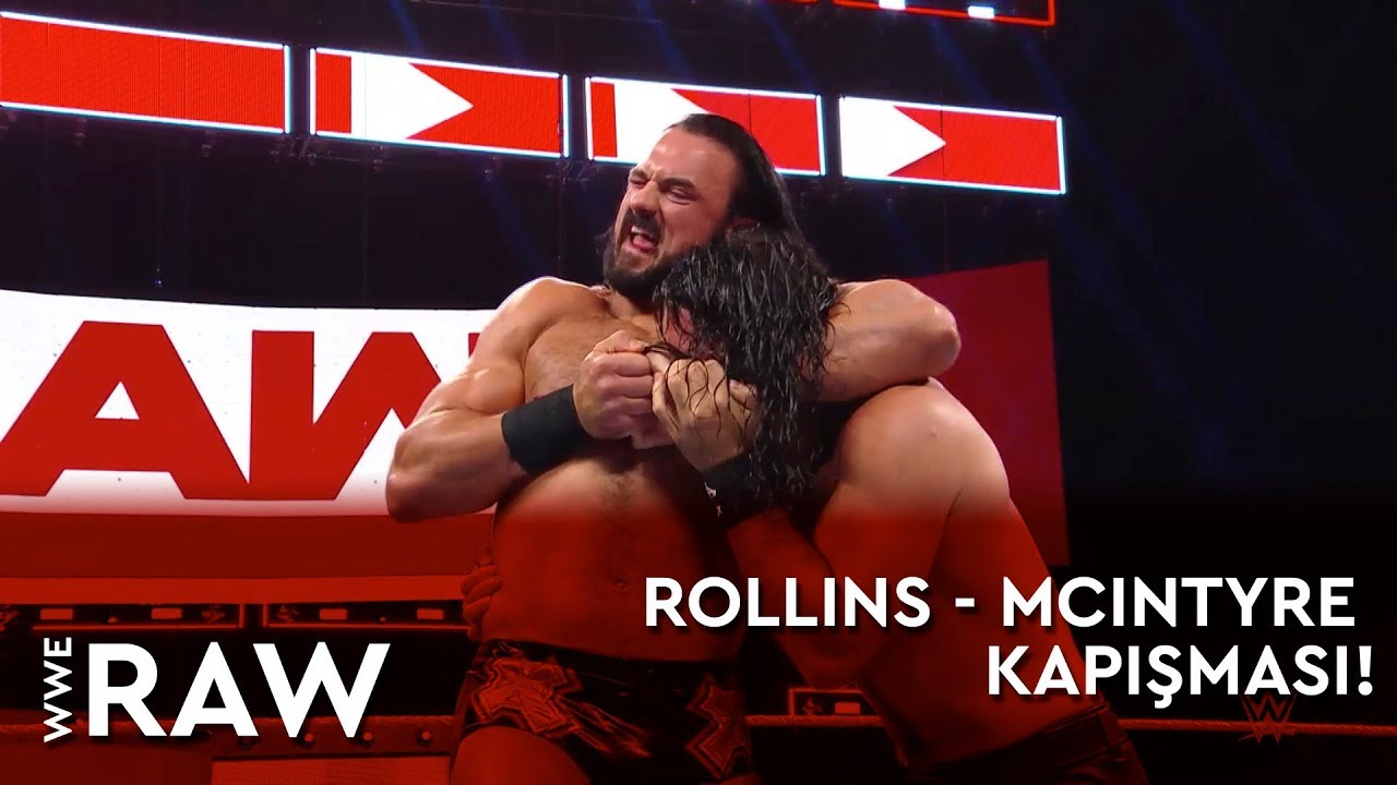 WWE Raw | Rollins - McIntyre Kapışması! (Türkçe Anlatım)