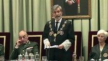 Carlos Lesmes tracta de 'cegats' els independentistes catalans davant la cúpula de l'exèrcit