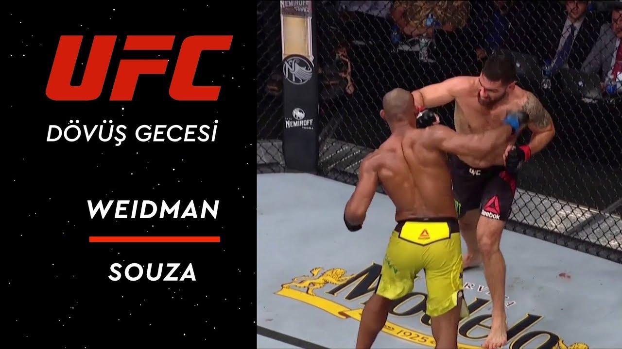 UFC 230 | Weidman vs Souza
