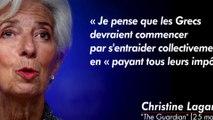 Christine Lagarde : première femme à diriger la Banque centrale européenne.