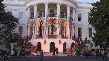 La Maison Blanche à l'heure d'Halloween