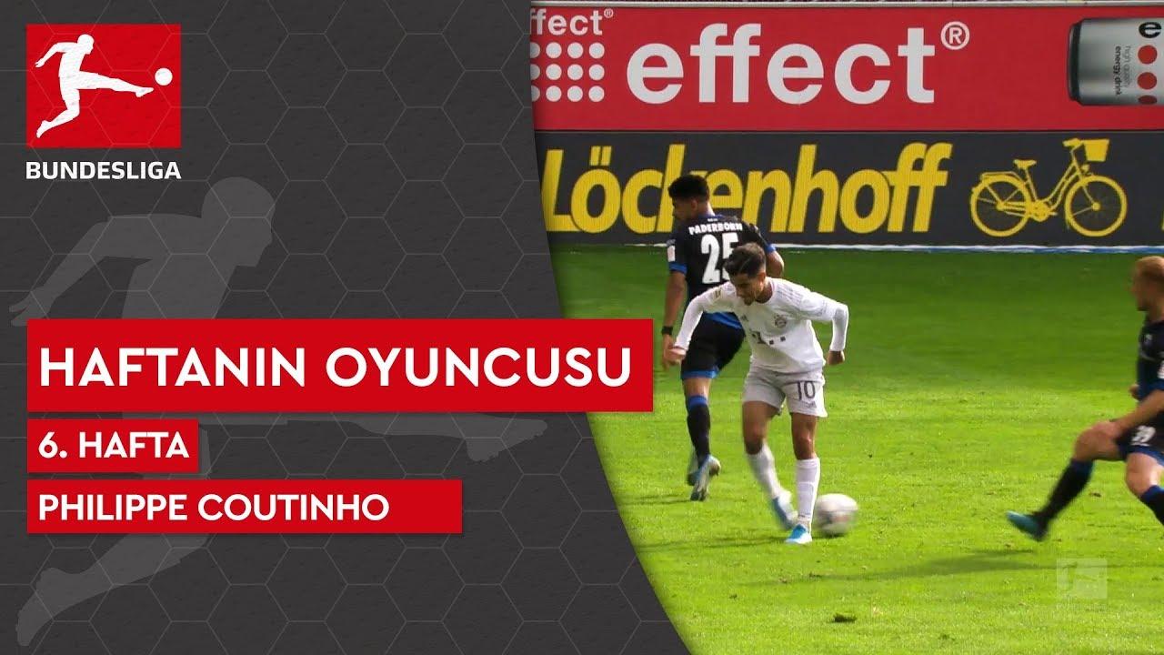 Bundesliga'da 6. Haftanın Oyuncusu | Philippe Coutinho (2019/20)