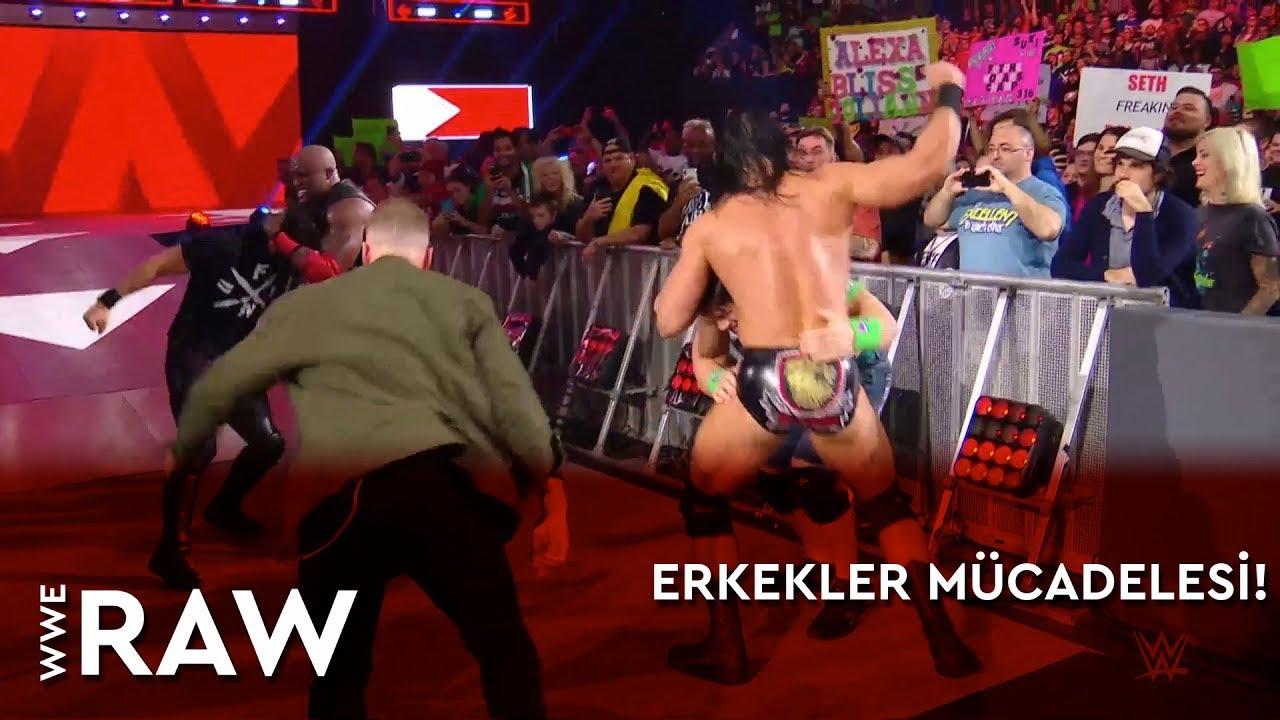 WWE Raw | Erkekler Mücadelesi! (Türkçe Anlatım)