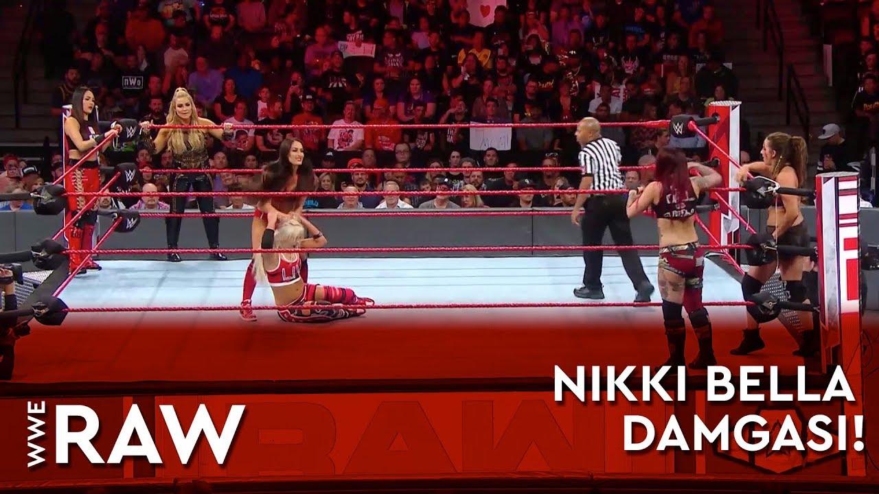 WWE Raw'a Nikki Bella Damgası!