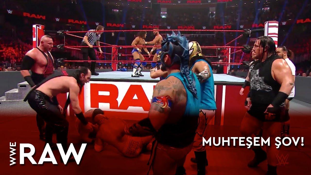 WWE Raw | Muhteşem Şov! (Türkçe Anlatım)