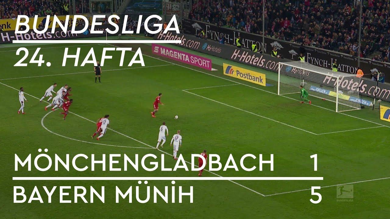 Borussia Mönchengladbach - Bayern Münih (1-5) - Maç Özeti - Bundesliga 2018/19