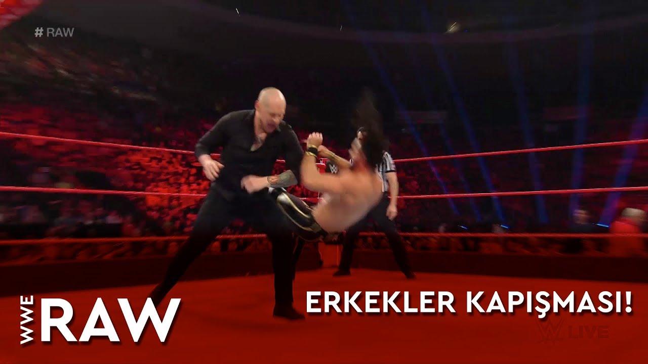WWE Raw | Erkkeler Kapışması! (Türkçe Anlatım)