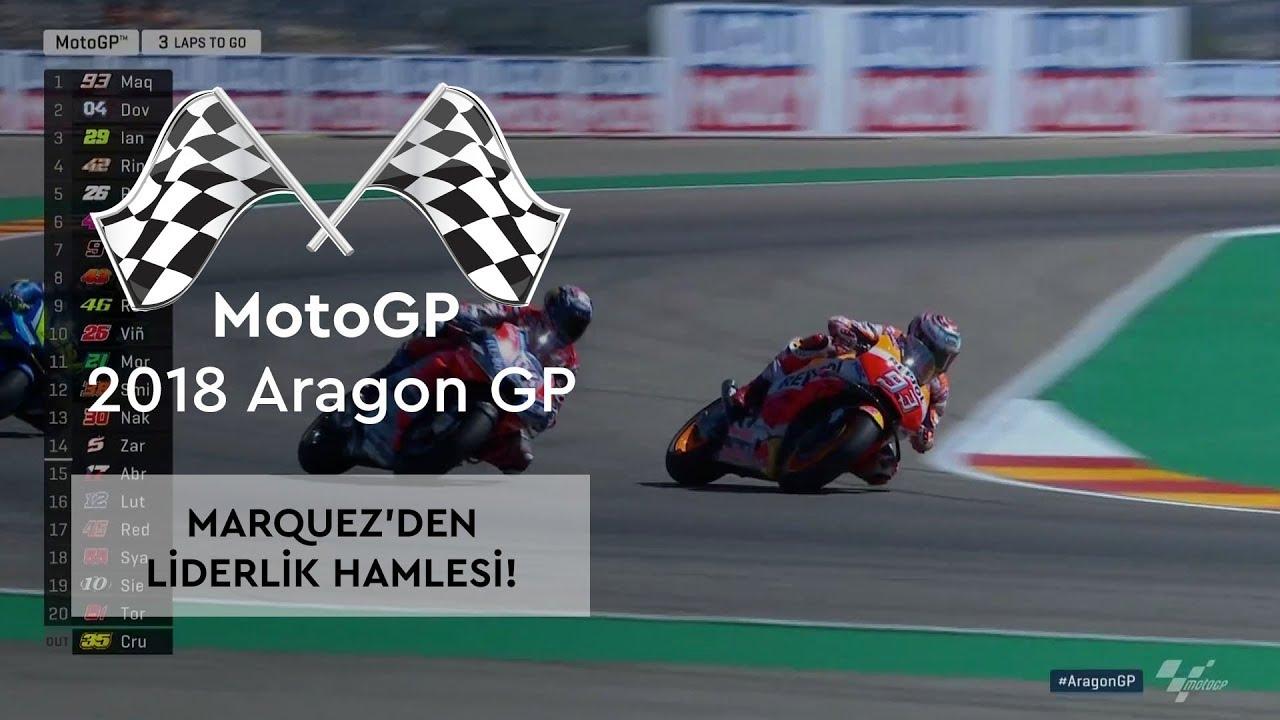 Marquez'in Zirve İnadı! (2018 MotoGP - Aragon Grand Prix)