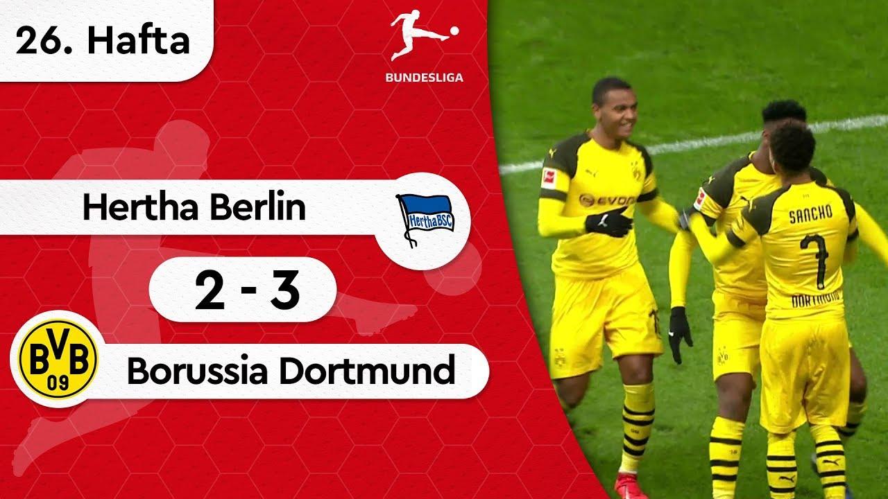 Hertha Berlin - Borussia Dortmund (2-3) - Maç Özeti - Bundesliga 2018/19