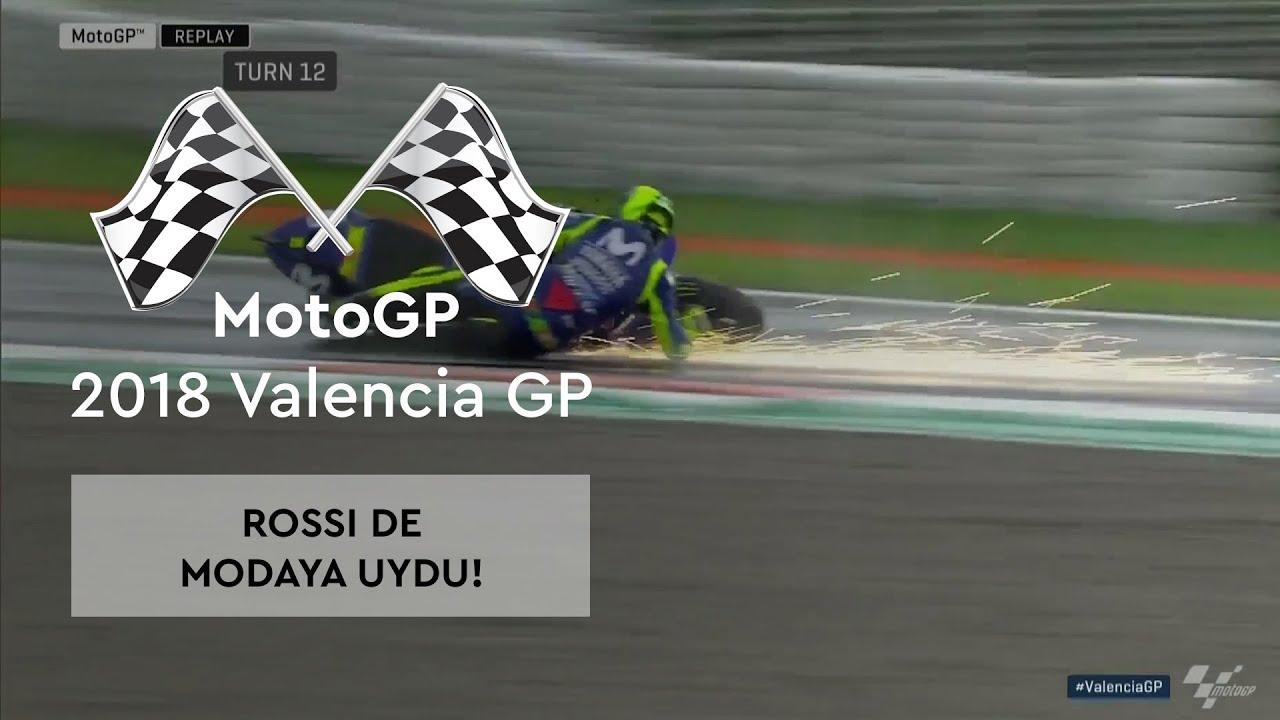 Rossi De Modaya Uydu! (MotoGP 2018 - Valencia Grand Prix)