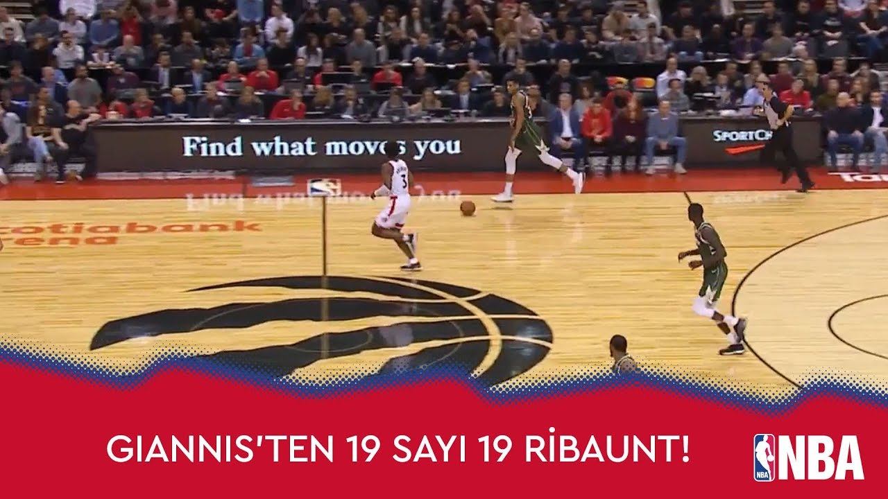 Giannis'ten 19 sayı 19 Ribaunt!