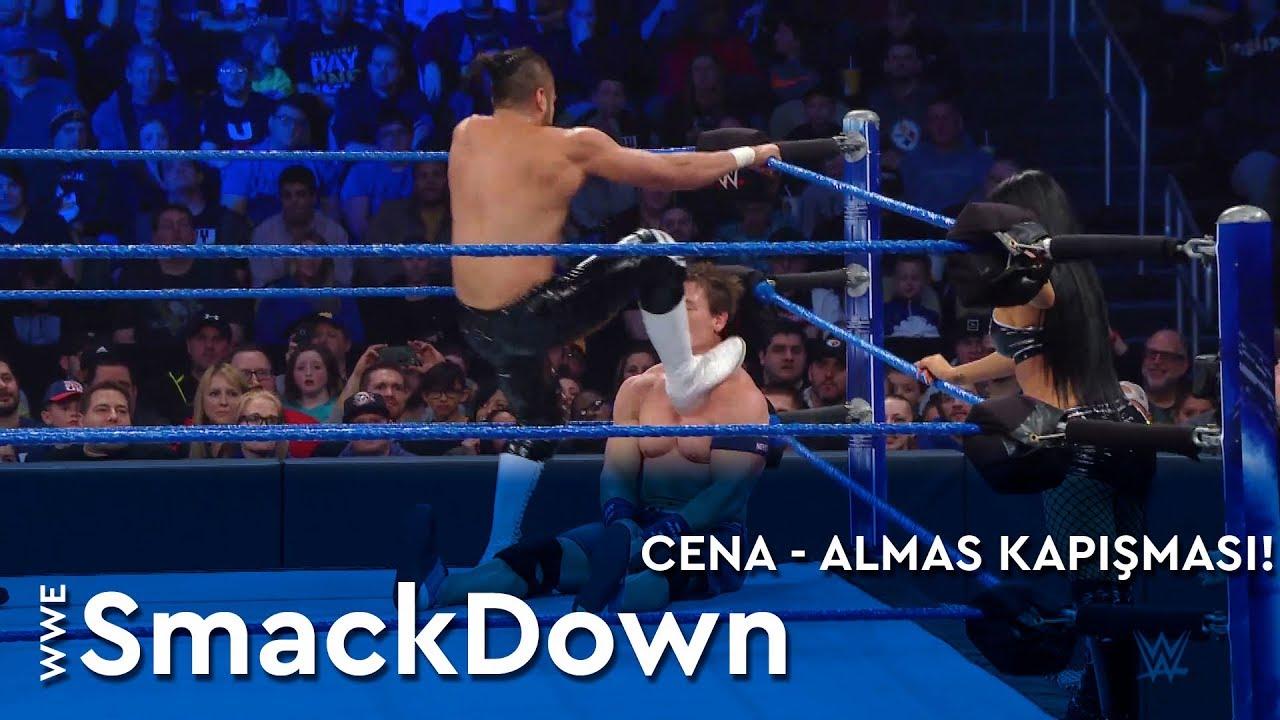 WWE SmackDown | Cena - Almas Kapışması! (Türkçe Anlatım)