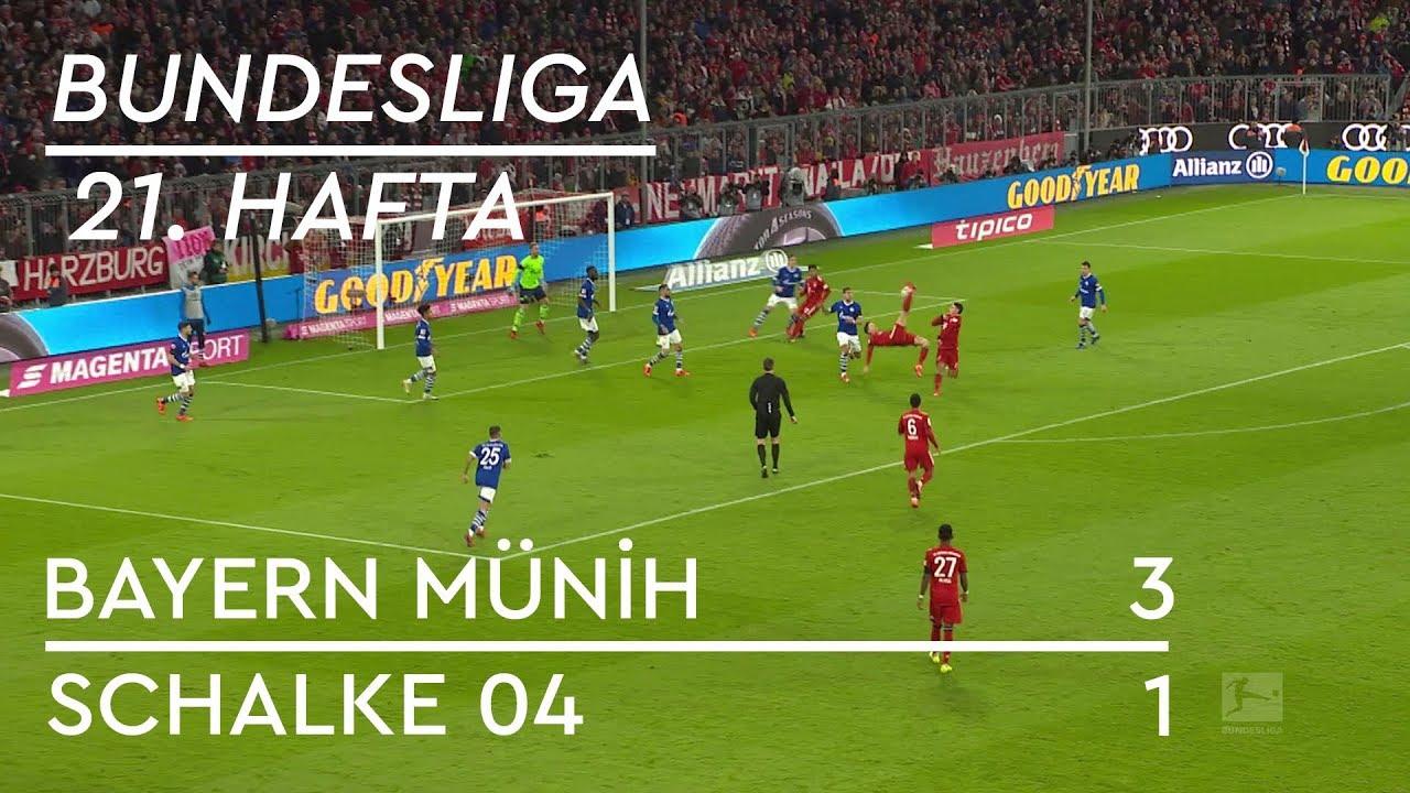 Bayern Münih - Schalke 04 (3-1) - Maç Özeti - Bundesliga 2018/19