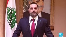 Lebanon's Prime Minister Saad Hariri Offers To Resign After Weeks Of Protests