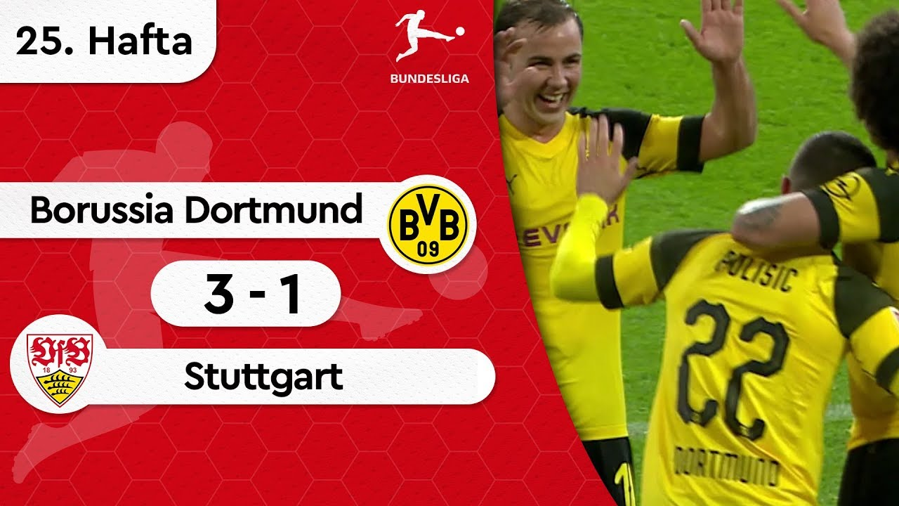 Borussia Dortmund - Stuttgart (3-1) - Maç Özeti - Bundesliga 2018/19