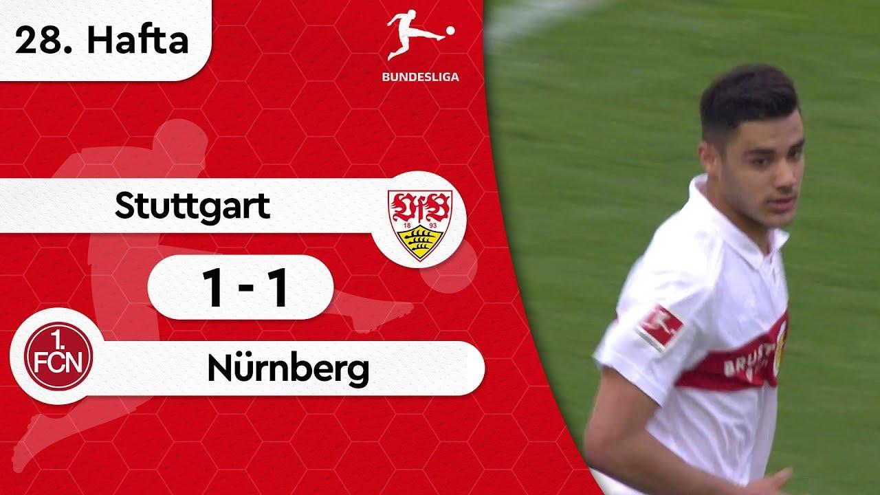 Stuttgart - Nürnberg (1-1) - Maç Özeti - Bundesliga 2018/19