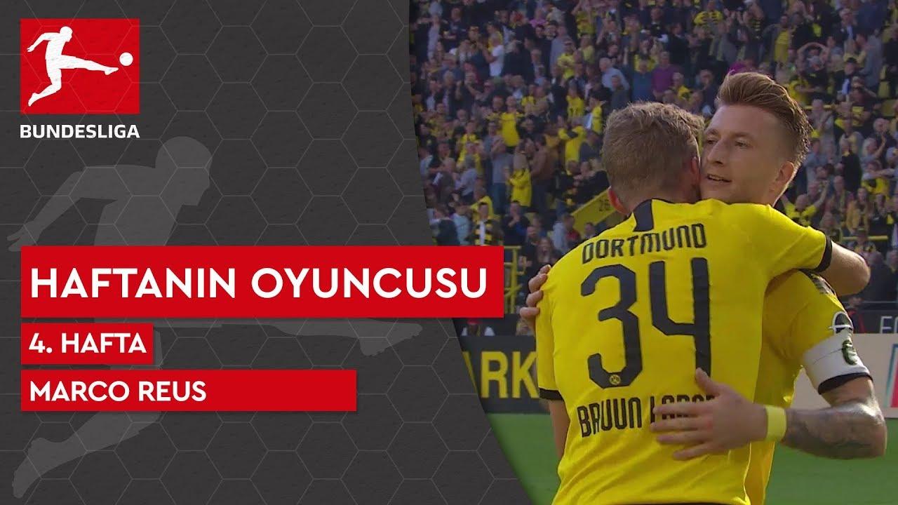 Bundesliga'da 4. Haftanın Oyuncusu | Marco Reus (2019/20)