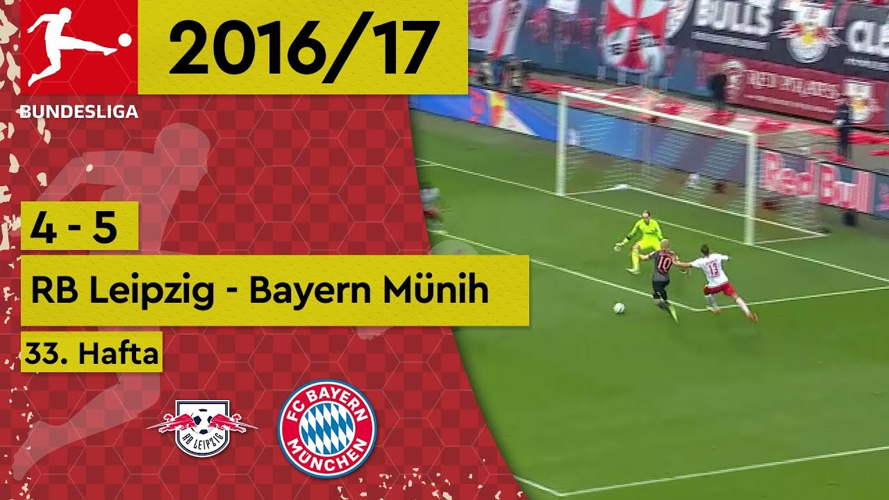 RB Leipzig - Bayern Münih (4-5) - Maç Özeti - Bundesliga 2016/17