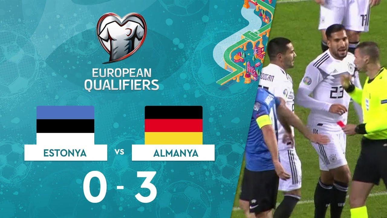 Estonya 0-3 Almanya | EURO 2020 Elemeleri Maç Özeti - C Grubu
