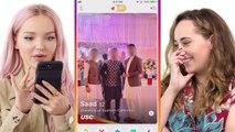 Dove Cameron Hijacks a Stranger's Phone