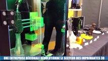 Une entreprise régionale révolutionne le secteur de l'imprimante 3D
