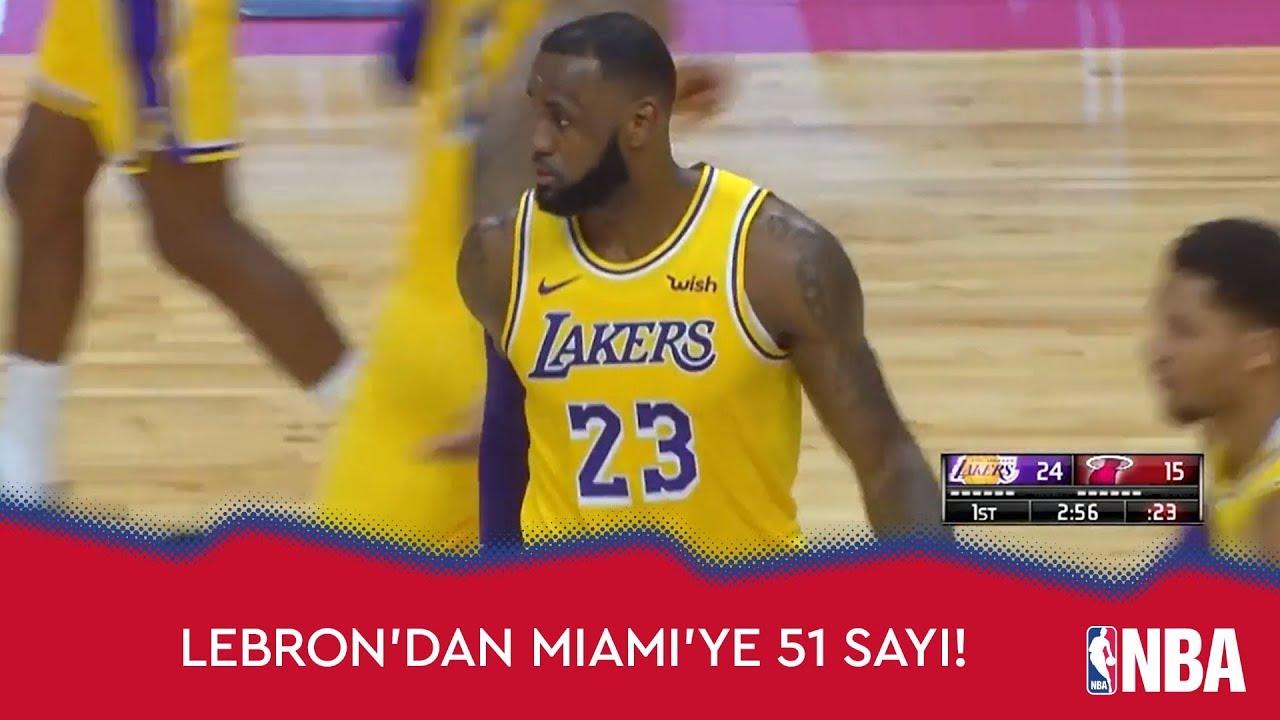 LeBron'dan Miami'ye 51 Sayı!