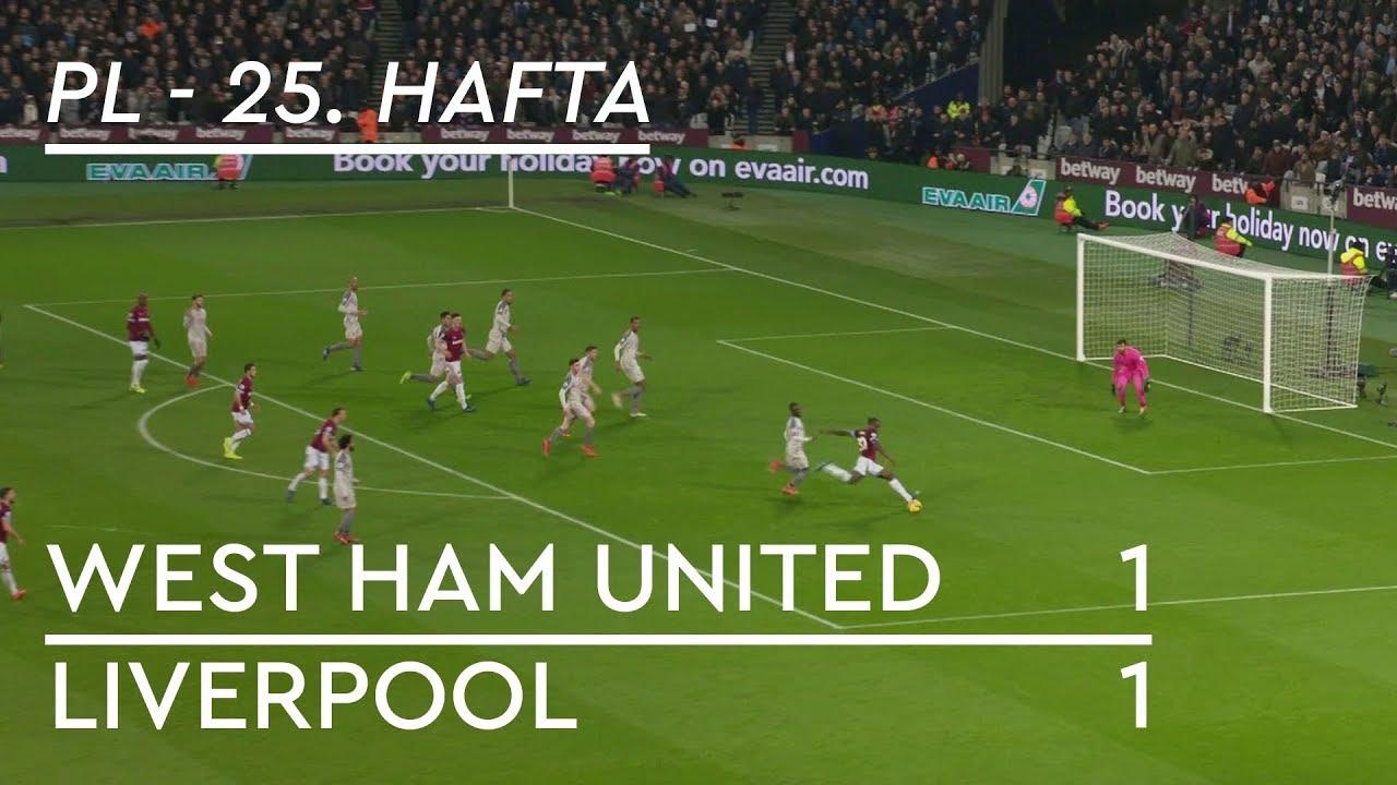 West Ham - Liverpool (1-1) - Maç Özeti - Premier League 2018/19
