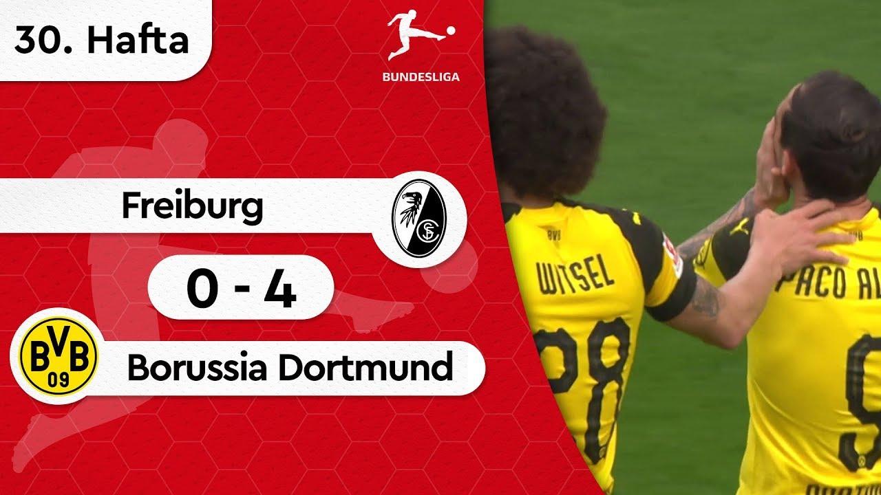 Freiburg - Borussia Dortmund (0-4) - Maç Özeti - Bundesliga 2018/19
